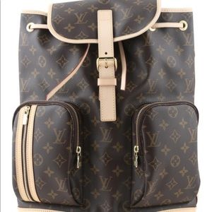 Authentic Louis Vuitton Bosphore Monogram Backpack